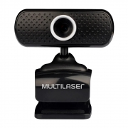 Webcam Multilaser Plug/Play Micro USB 480P Preto WC051 30173