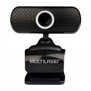 Webcam Multilaser Plug/Play Micro USB 480P Preto WC051 30173