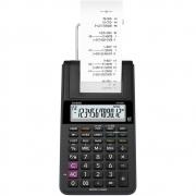 Calculadora de Mesa Compacta com Bobina Bivolt Preta HR-8RC Casio 25319