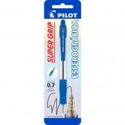 Caneta Esferográfica Super Grip 10R Azul 0.7mm Pilot 14467