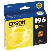 Cartucho de Tinta Epson T196420-BR DurABrite Ultra Amarelo 18011
