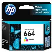 Cartucho HP 664 Colorido Original (F6V28AB) 22333