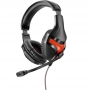 Headset Gamer Warrior P2 Harve Preto/Vermelho Cabo Nylon PH101 29783