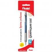 Lapiseira 0.7mm Azul Graphgear PG527-C Pentel 09854