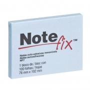 Bloco Adesivo Notefix Azul 76 mm x 102 mm - 100 folhas 15028