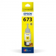 Refil de Tinta T 673 Epson T673420-AL Amarelo 17178