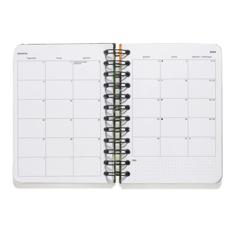 Agenda Planner Diaria Cicero Arco Iris 11,5X16 Todas Juntas 7899866808232 28715