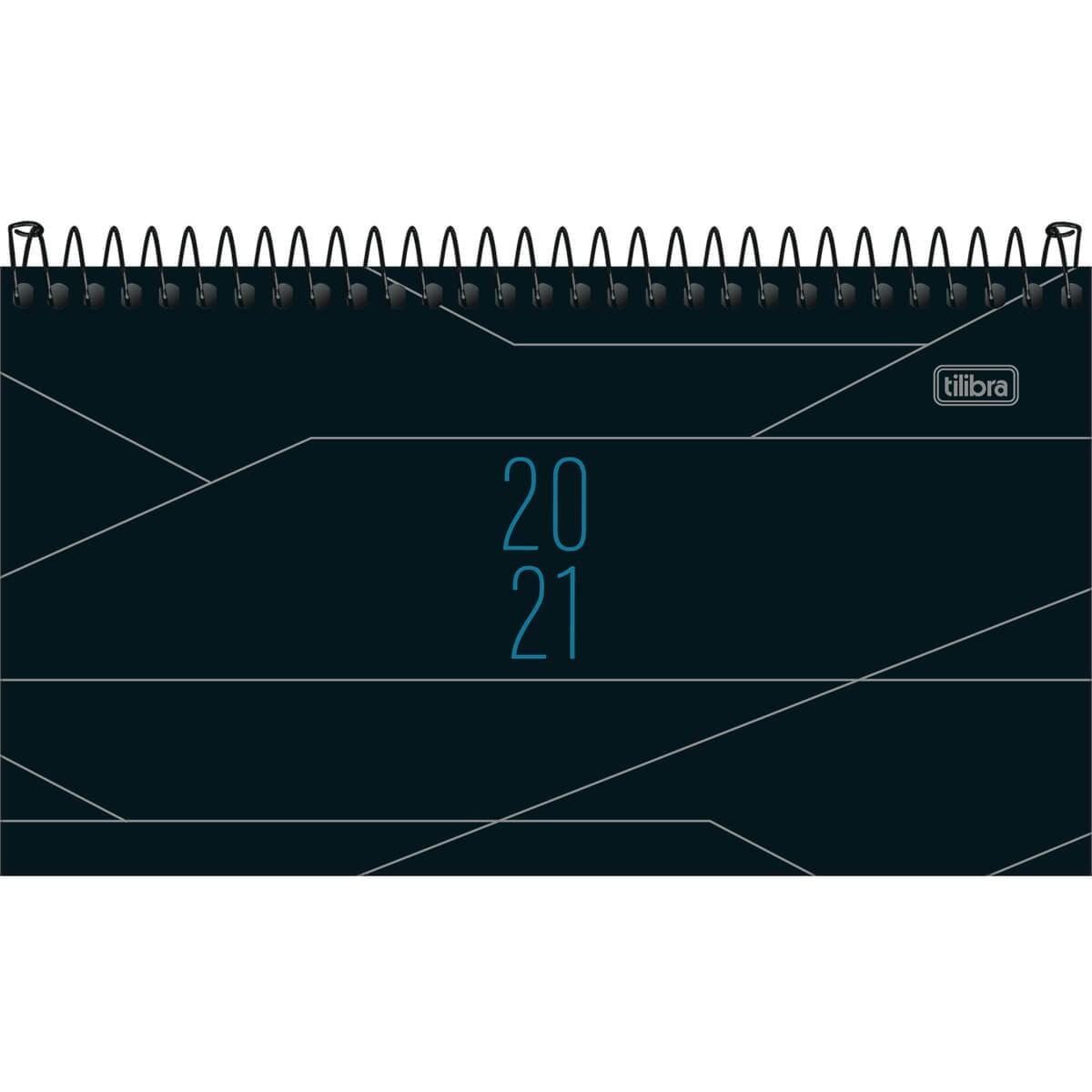 Agenda Tilibra 2021 Executiva Diaria Spot de Bolso Masculina Preta 141887 29461
