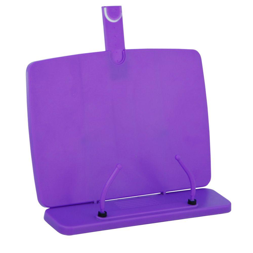 Apoio Plastico Para Leitura Yes Copy Holder Ton Pastel Lilas 46112C LL 27654