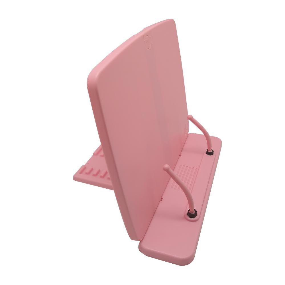 Apoio Plastico Para Leitura Yes Copy Holder Ton Pastel Rosa 46112C RS 27668