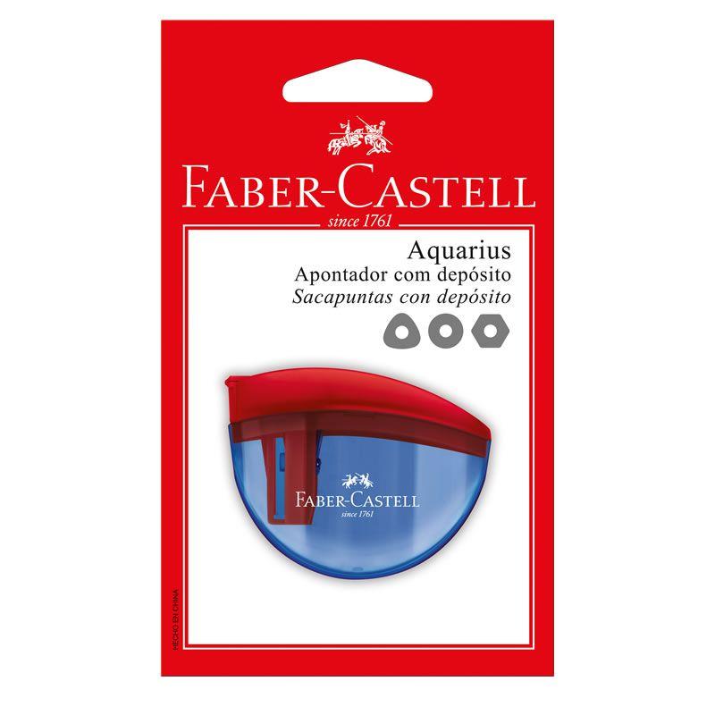 Apontador Com Deposito Faber-Castell Aquarius SM/AQUARIUS 27645