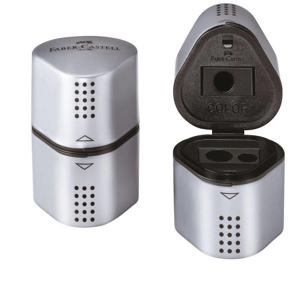 Apontador Com Deposito Faber-Castell Grip 2001 183800 08829