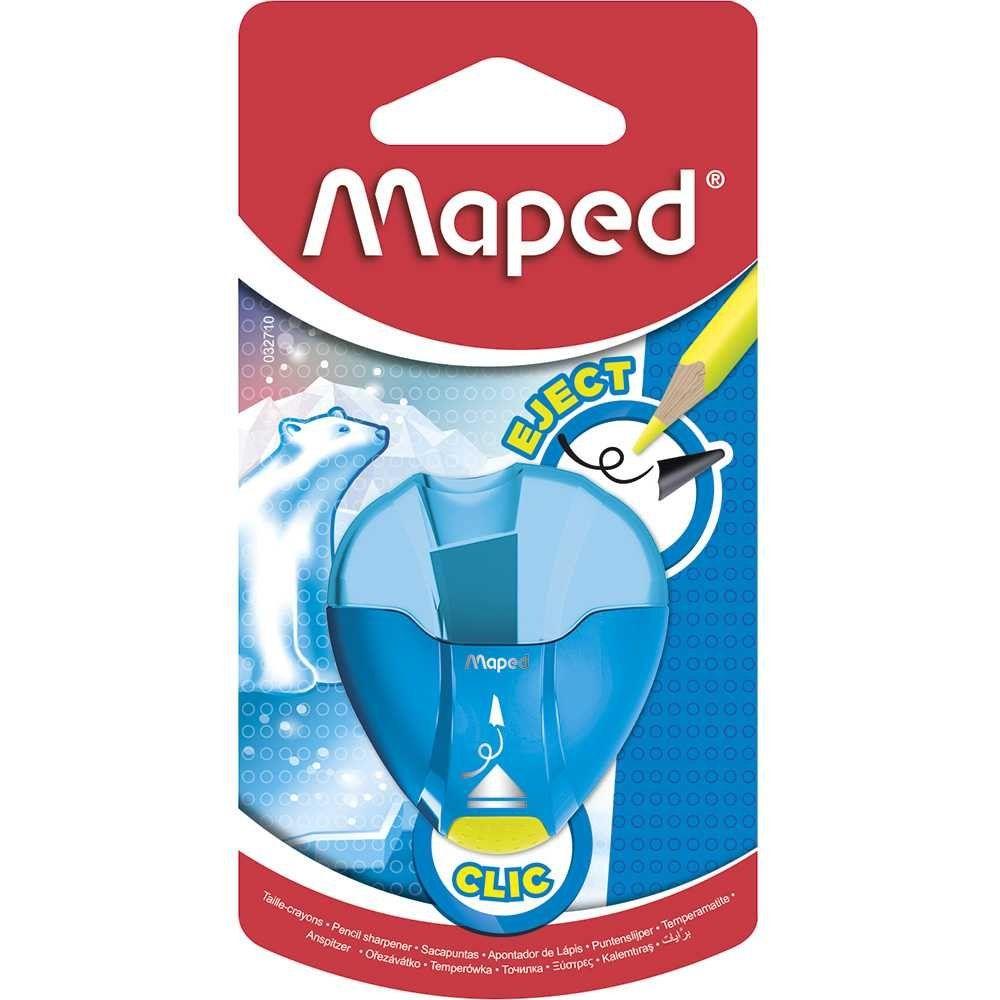 Apontador com Depósito I-Gloo Eject 032710  1 Furo Maped  25447