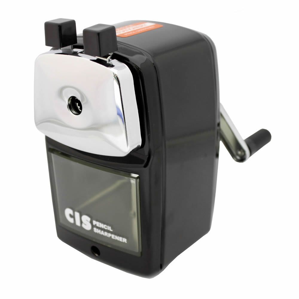 Apontador de Mesa Com Manivela Manual Grande CiS PR-03 18400