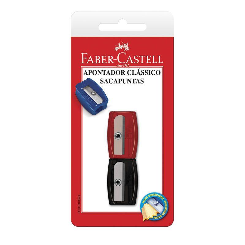 Apontador Simples 2 Un. 060100ZF Faber-Castell 01860