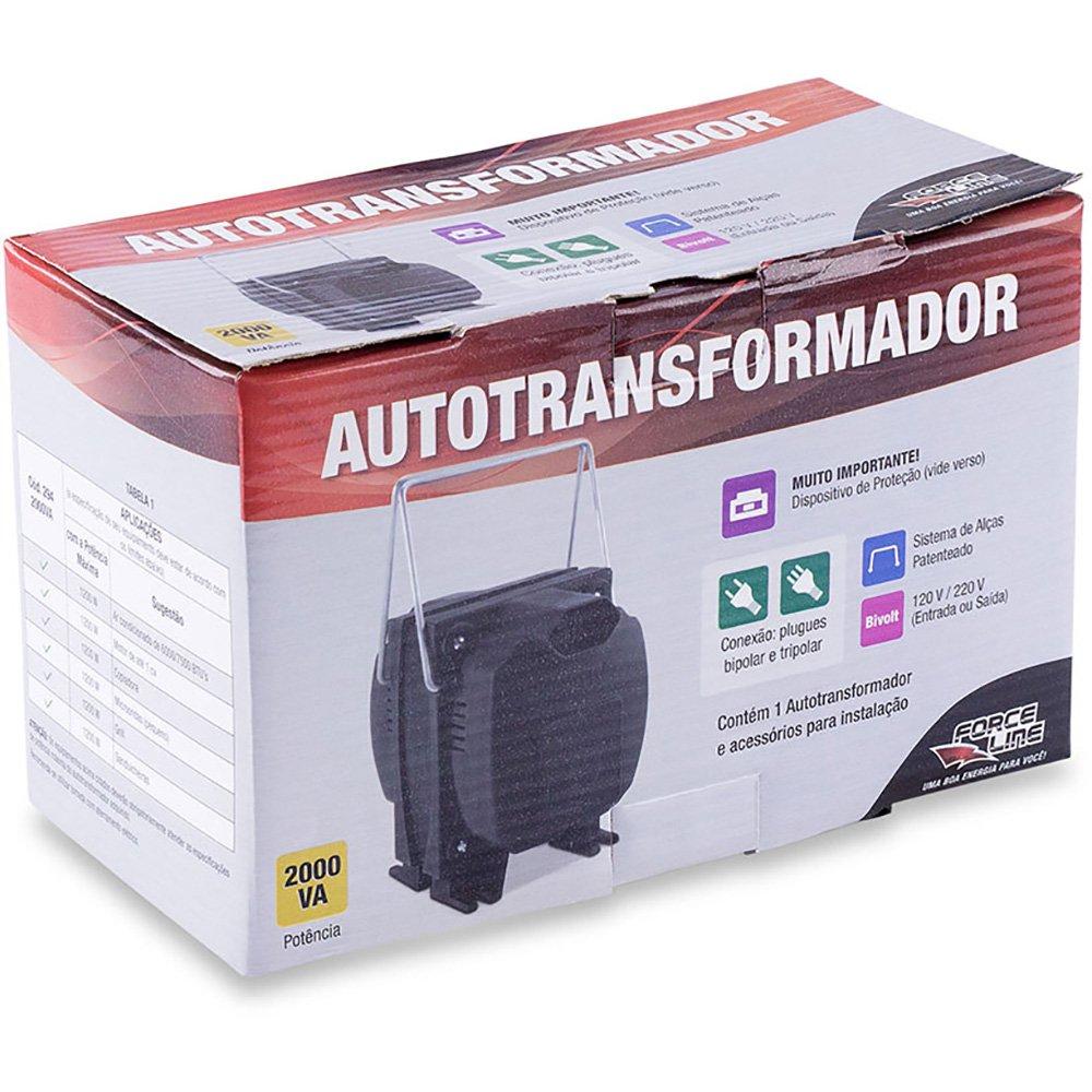 Autotransformador Force Line 2000VA 294 25498