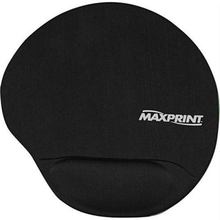 Base para Mouse com Apoio Em Gel Preto 604484 Maxprint 19625
