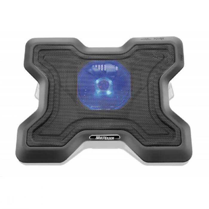 Base Para Notebook com Cooler 15'' X Preto Ac123 Multilaser 18757