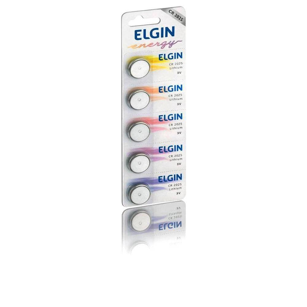 Bateria Elgin Lithium 5 Un. CR2025 24475