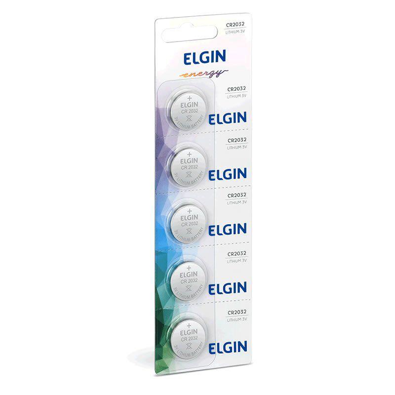 Bateria Elgin Lithium 5 Un. CR2032 16025