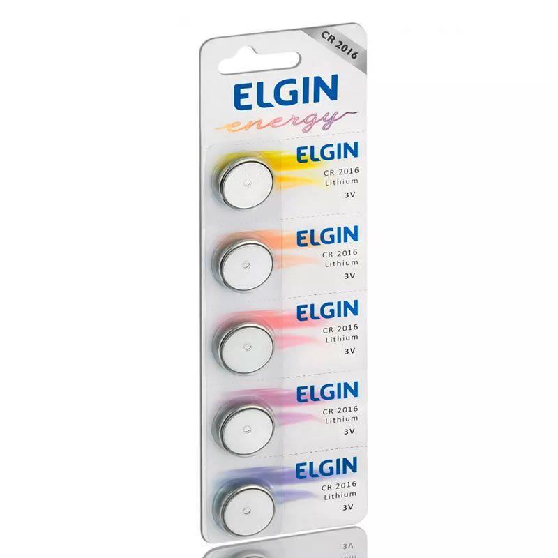 Bateria Elgin Lithium 5 Un. CR2016 24472