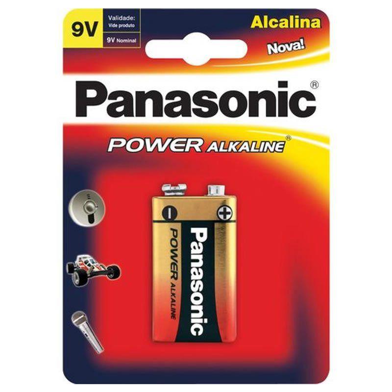 Bateria Panasonic Alcalina 9V 10418
