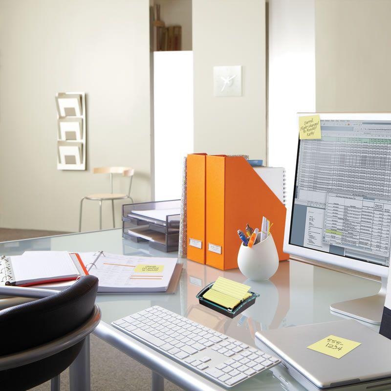 Bloco de Notas Adesivas Post-it® Refil Amarelo 76 mm x 76 mm - 100 folhas 01784