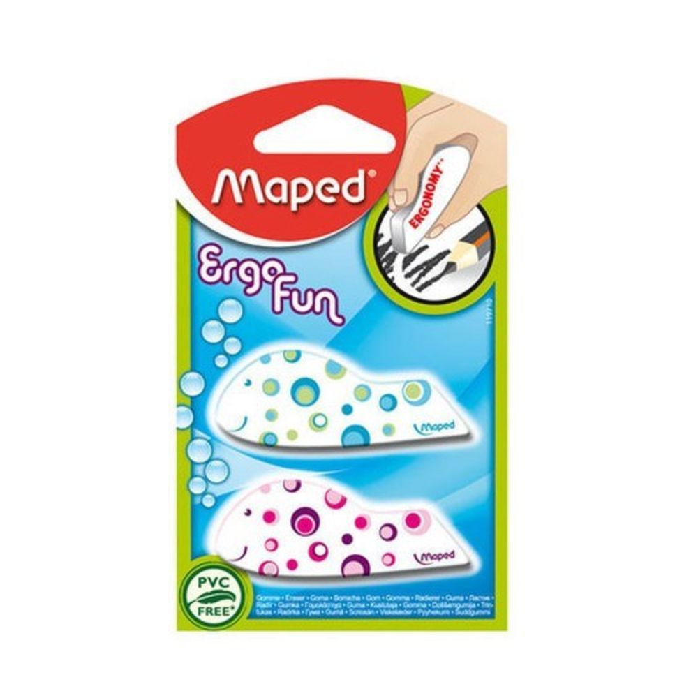 Borracha Maped Ergo Fun Com 2 Un 119710 21107