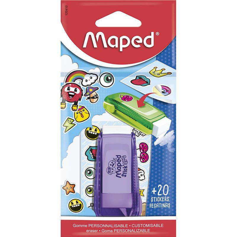 Borracha Maped Stick Art Adesivos 120410 26464