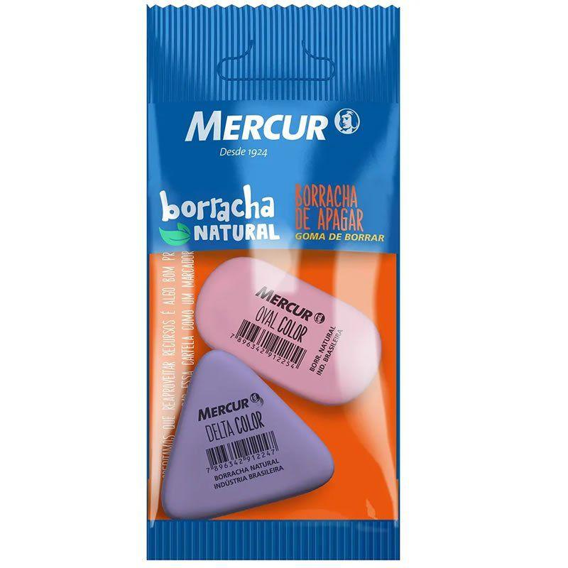 Borracha Mercur Oval + Delta Lilas / Rosa Pack B001010301061 26403