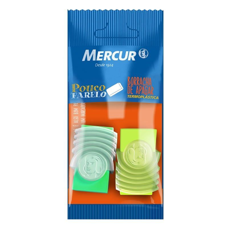 Borracha Mercur TR18 Neon Amarelo + Verde B01010301044 26405