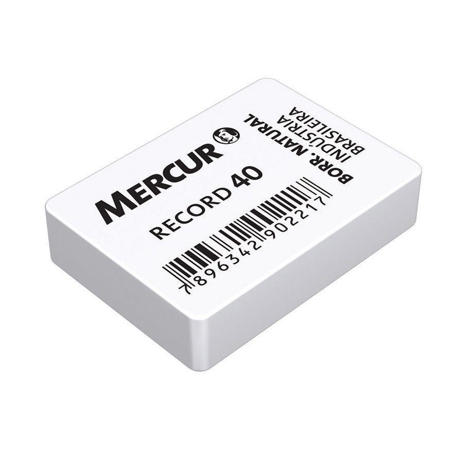 Borracha Record 40 Caixa com 40 Un. Mercur 04748