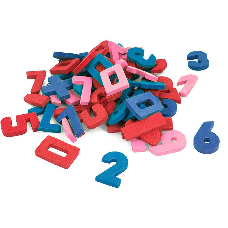 Brinquedo Didático Seller Em E.V.A Números E Sinais Moveis 0454 16748
