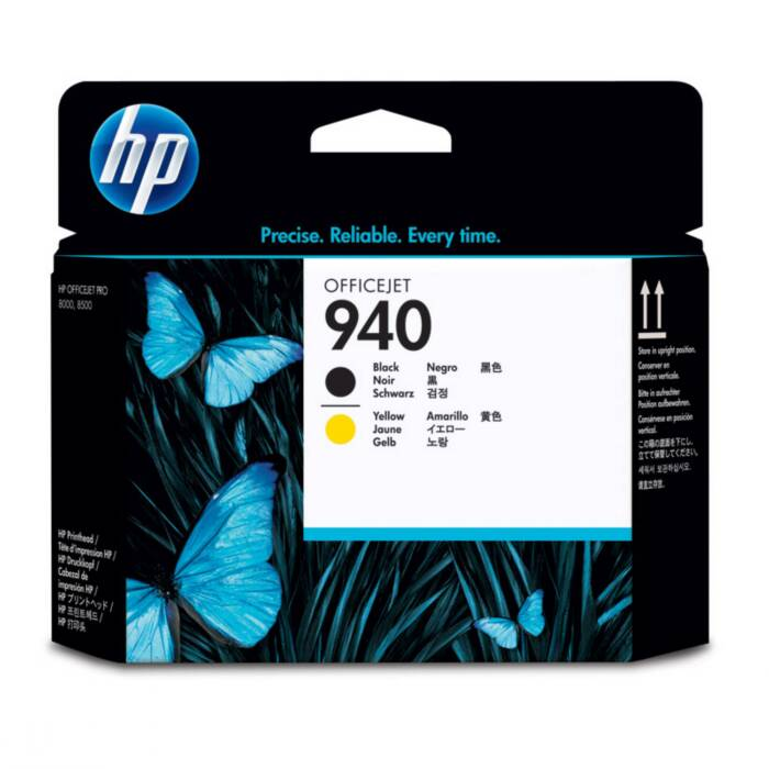 Cabeça de Impressão HP 940 C4900A Preto e Amarelo 13081