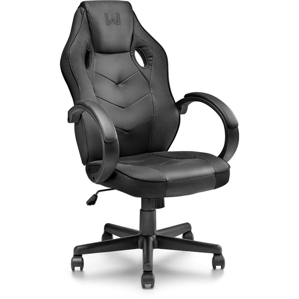 Cadeira Gamer com Função Basculante 15° Preta Warrior GA182 Multilaser 30674