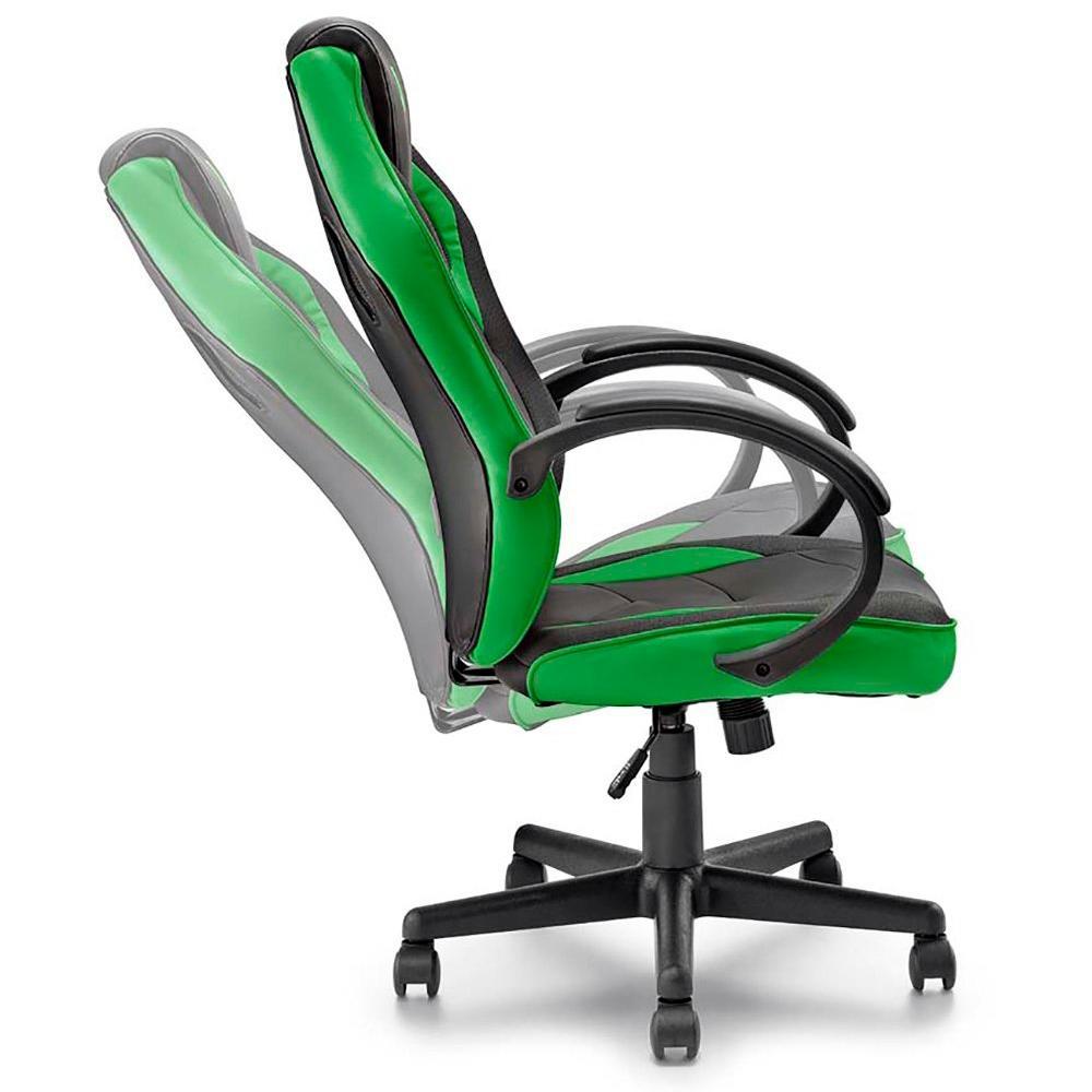 Cadeira Gamer Verde Warrior GA160 Multilaser 30672