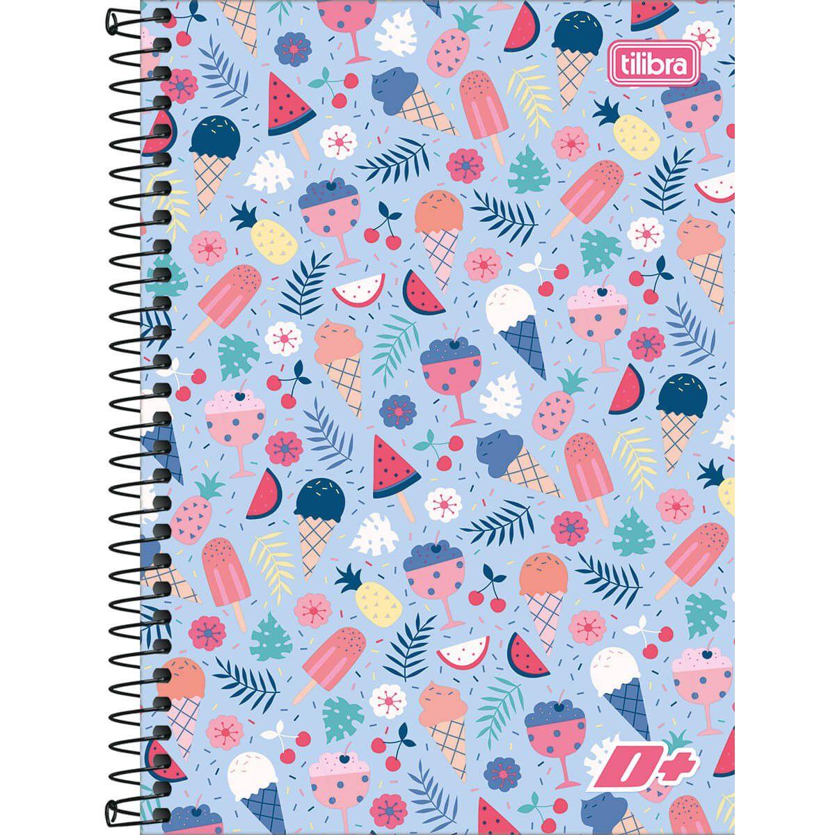 Caderneta de Anotações Com 96 Folhas 283061 Tilibra 04619