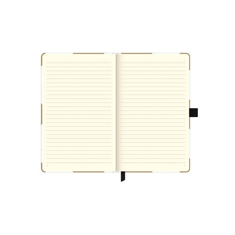 Caderneta Otima Papertalk Gold&Kraft Maxi C 84 FOLHAS 125X200Mm C Br 25577
