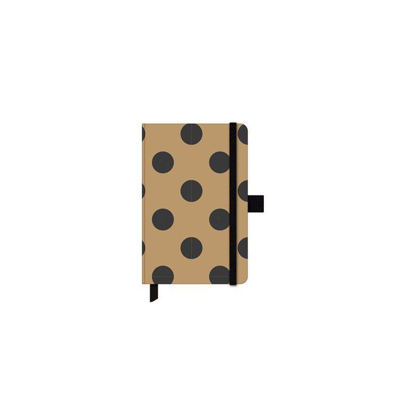Caderneta Ótima Papertalk Gold&Kraft Mini 80 Fls 92X137Mm C Kf 25576