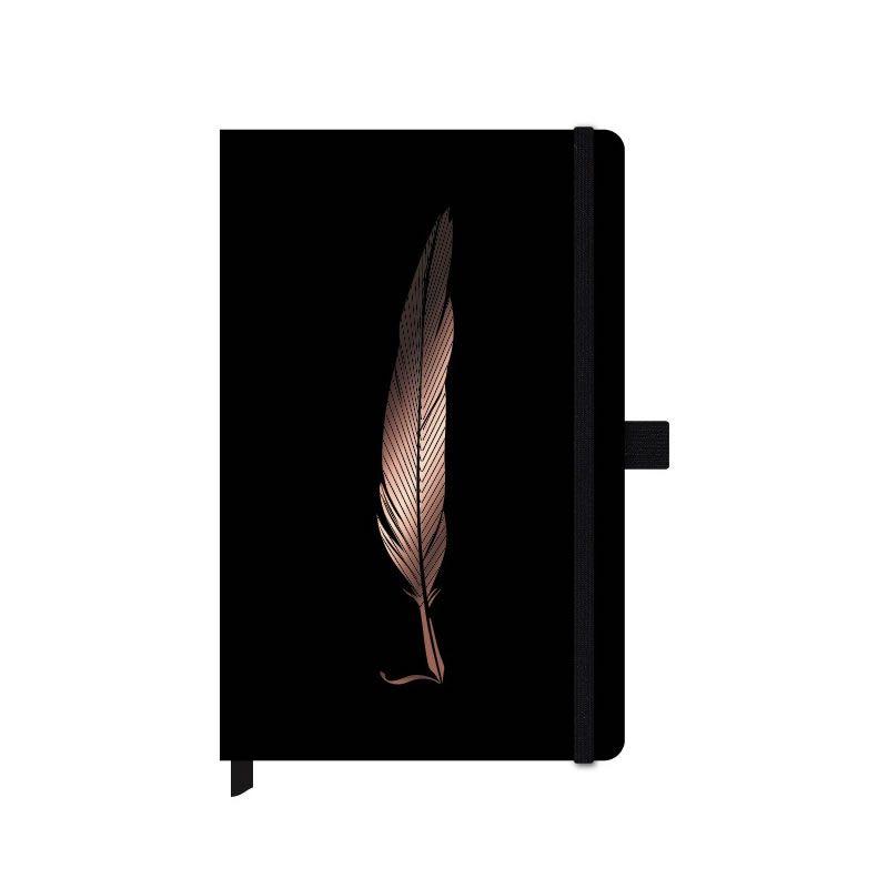 Caderneta Otima Papertalk Noir Pena Maxi 84 Fls 125X200Mm 4655-2 25839