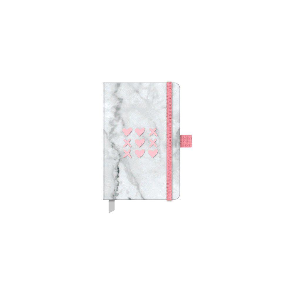 Caderneta Ótima Papertalk Pink Stone Mini 80 FOLHAS 92X137Mm 25586