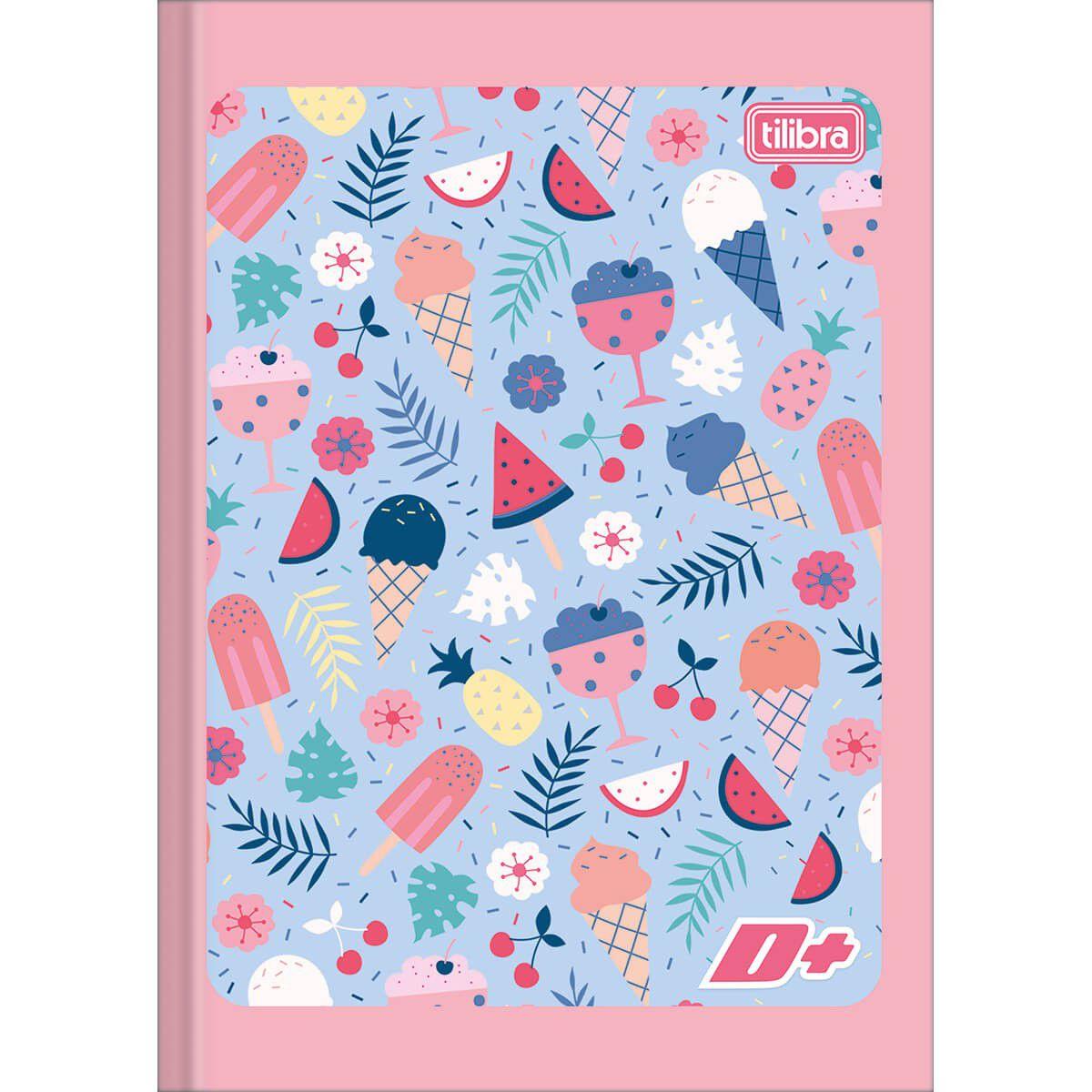 Caderno Brochura 1/4 (Tamanho Pequeno) Mais 48 Fls 111775 Tilibra 13620