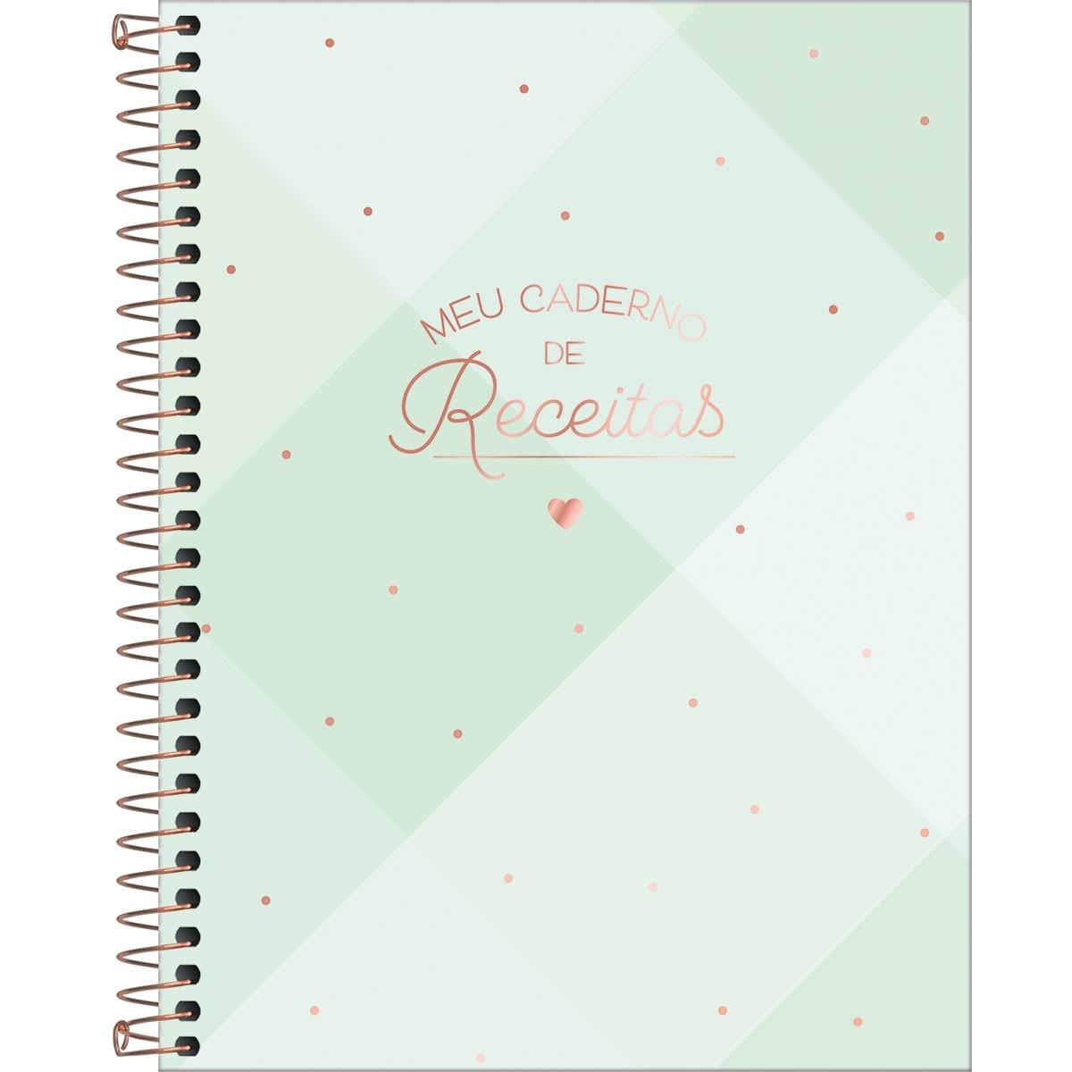 Caderno de Receitas Tilibra Soho 80 Fls 313548 29557