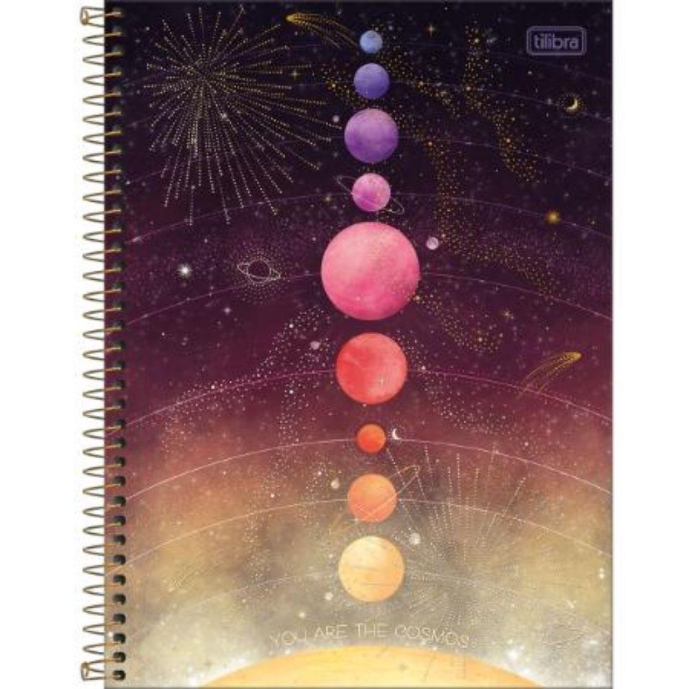 Caderno Espiral Capa Dura Universitário Magic 1 Matéria 294365 Tilibra  27792