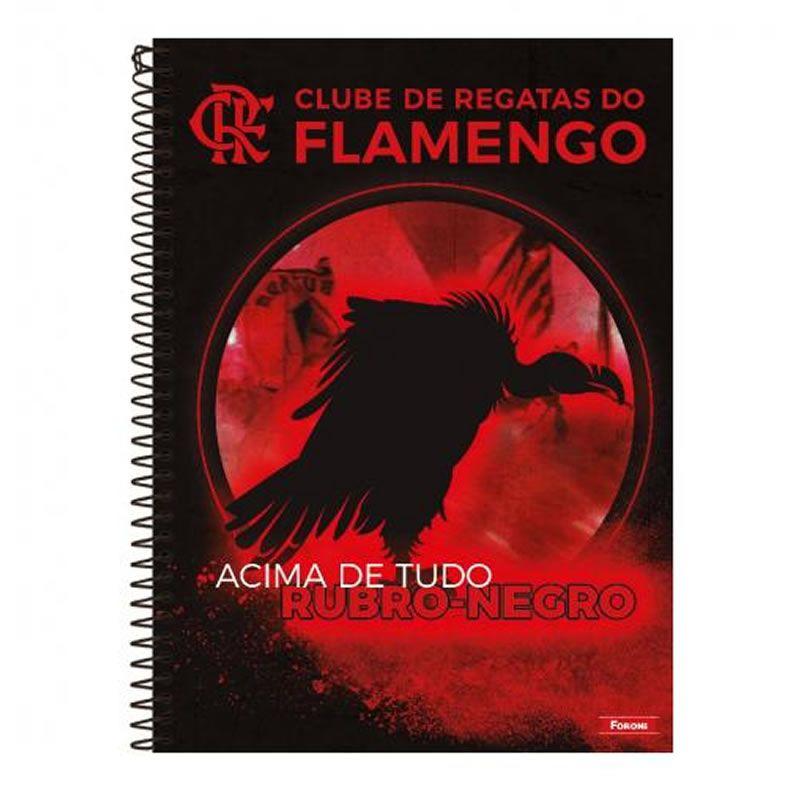 Caderno Foroni Flamengo Capa Dura Universitário 1X1 96 Fls 33.8840-8 28863