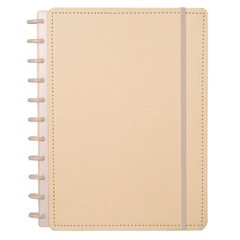 Caderno Inteligente Grande Tons Pastel Amarelo CIGD4034 27579
