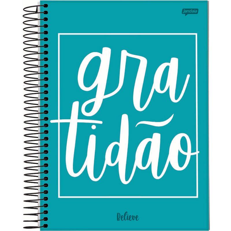 Caderno Jandaia Believe Universitário Capa Dura 1X1 96 Fls 62458 23614