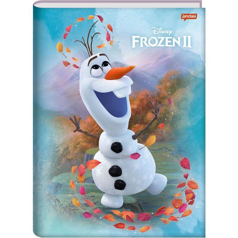 Caderno Jandaia Frozen Costurado Capa Dura Universitário 96 Fls 62509 26340