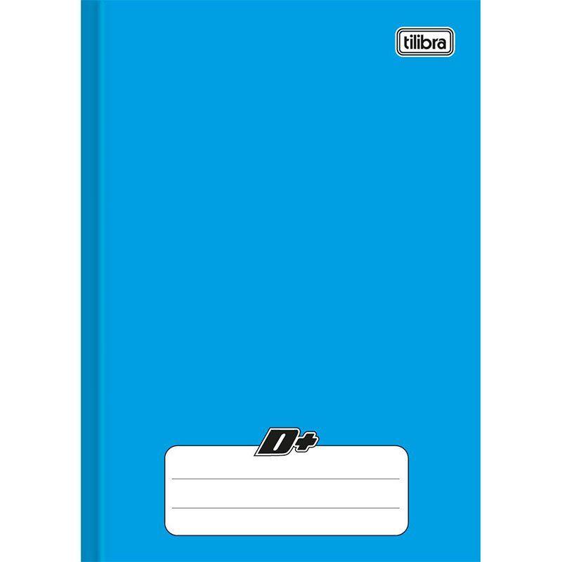 Caderno Mais Capa Dura Costurado Azul 1/4 (Tamanho Pequeno) 96 Fls 116700 Tilibra 16885