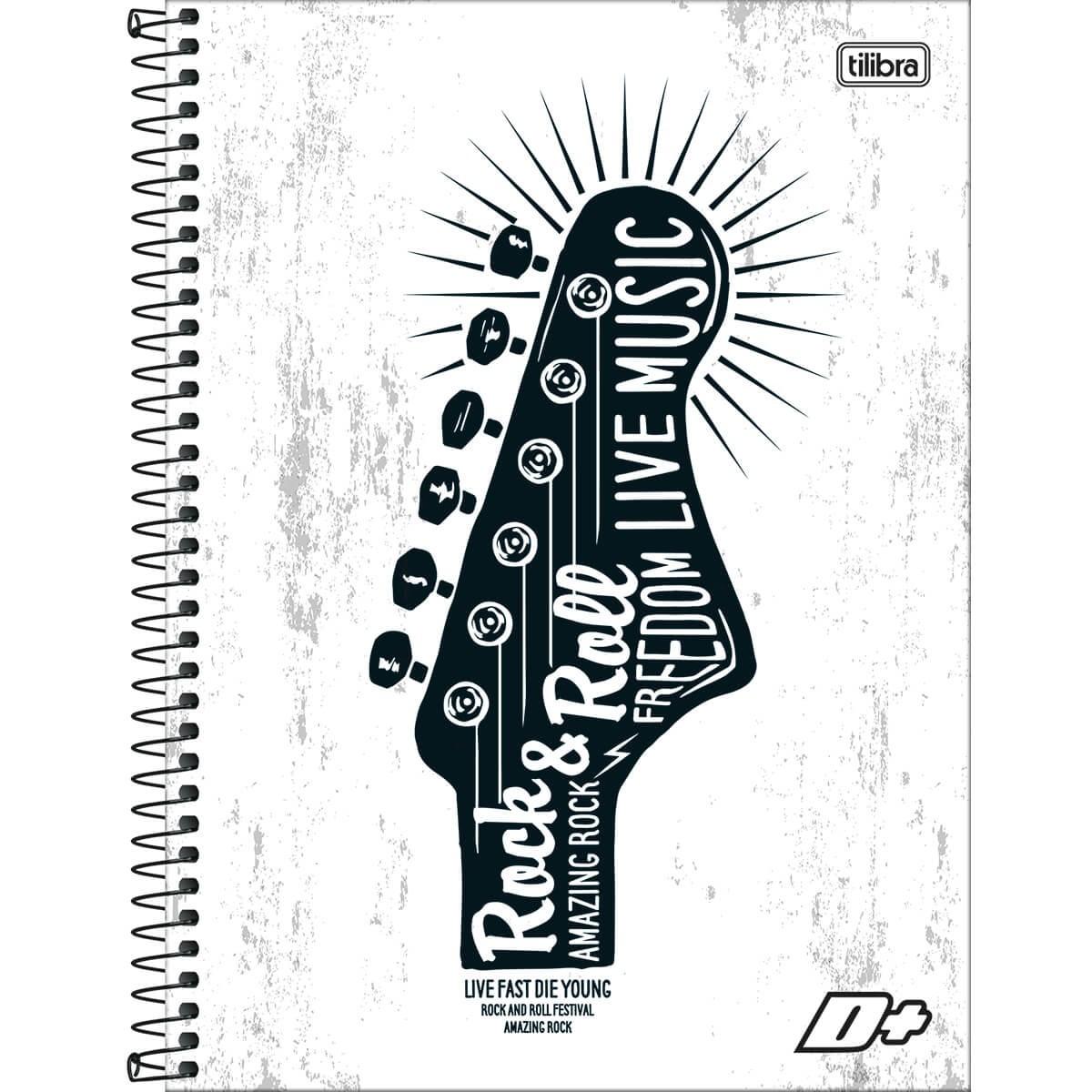 Caderno Mais Capa Dura / Sortida Universitário 1X1 96 Fls. 127957 Tilibra 11621